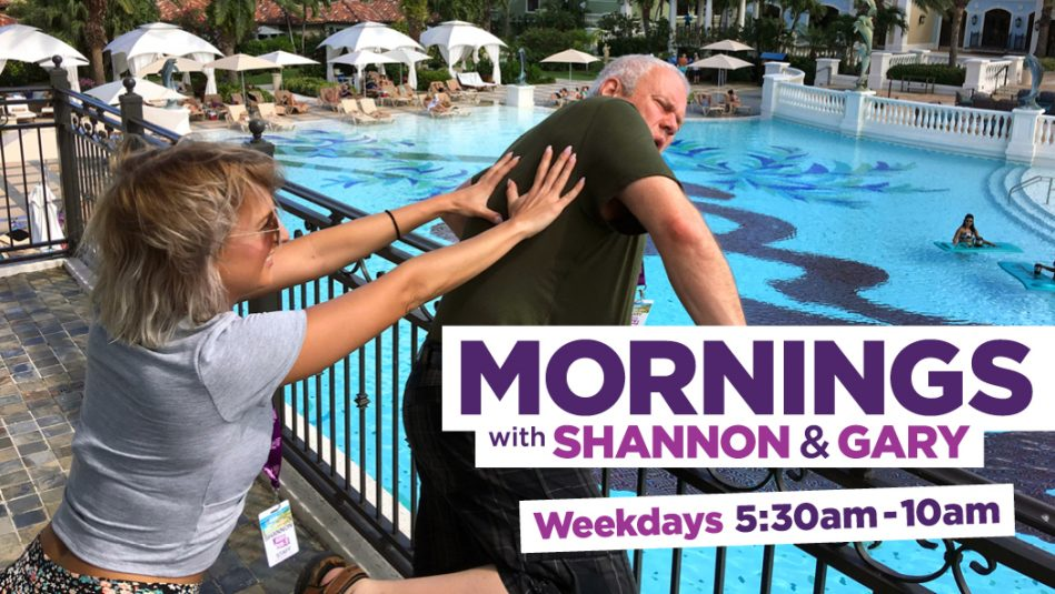 KiSS Mornings with Shannon and Gary