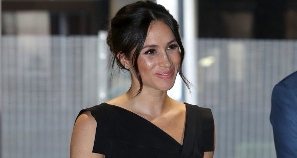 Britain's Prince Harry's fiancee, US actress Meghan Markle, attends a reception for Women's Empowerment at the Royal Aeronautical Society in central London, on the fourth day of the Commonwealth Heads of Government Meeting (CHOGM) on April 19, 2018.